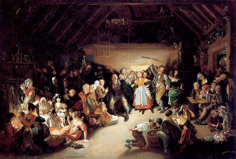 apple night all-hallows-eve