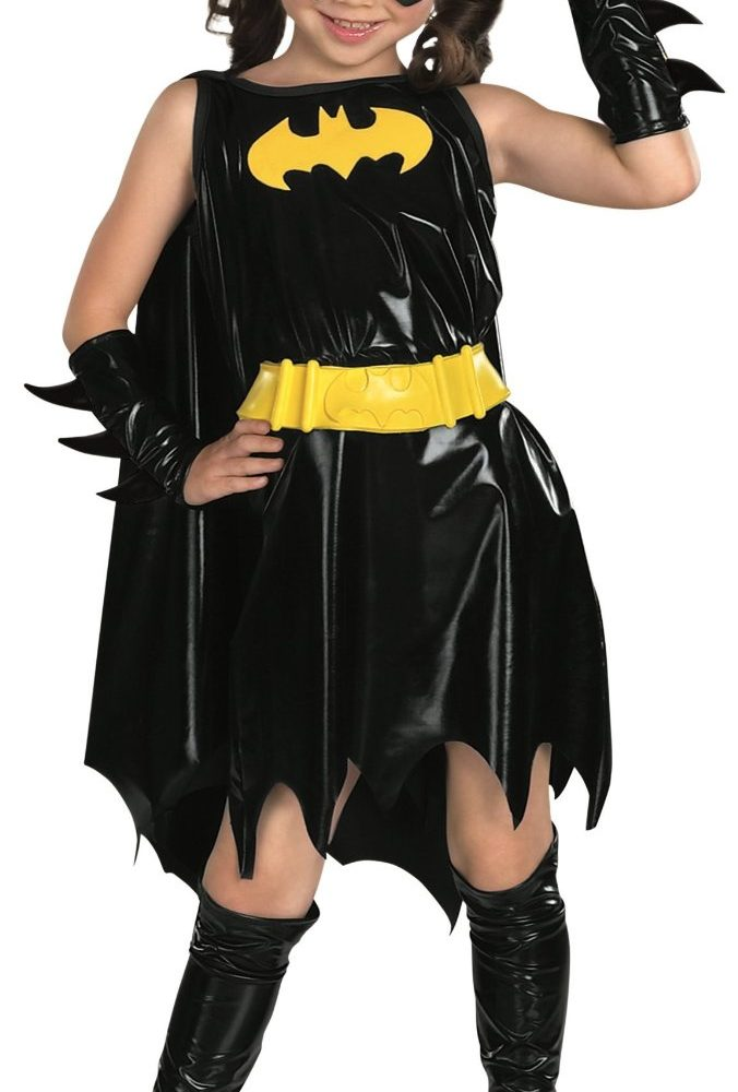 Child's Batgirl Superhero Halloween Costume